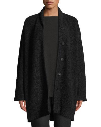 Felted Wool Boucle Jacket