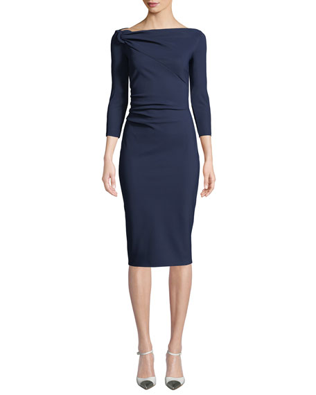 Chiara Boni La Petite Robe Delbar Body-Con Dress