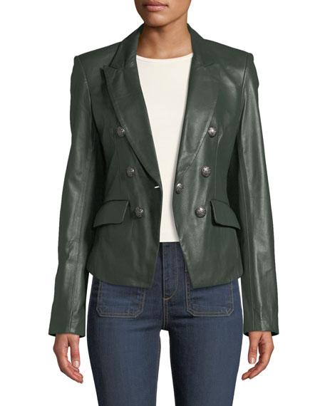 Cooke Leather Dickey Jacket