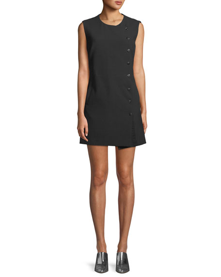 Cutler Sleeveless Crewneck Mini Dress