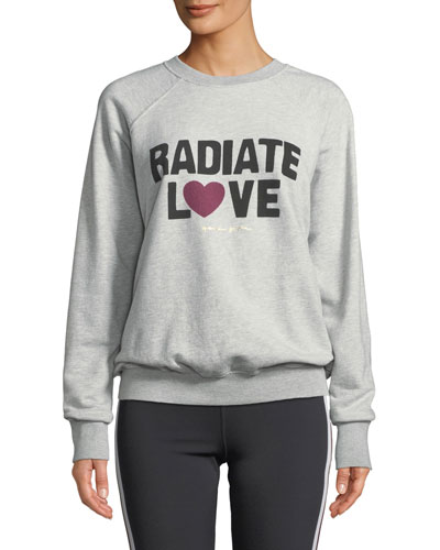 Radiate Love Graphic Crewneck Sweater
