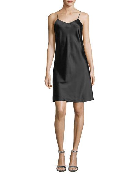 V-neck satin slip dress Helmut Lang Sale Choice 6AyQ2QSVV3
