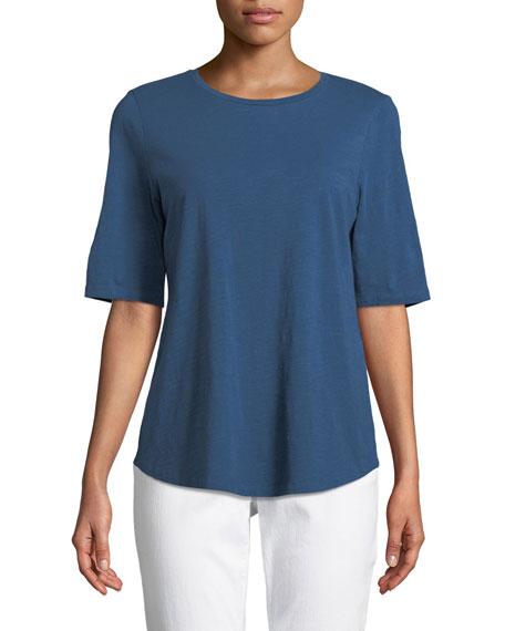 Eileen Fisher Organic Cotton Slub Top