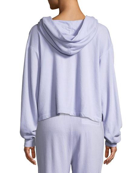 Ash Garment-Dye Hoodie Pullover Sweatshirt