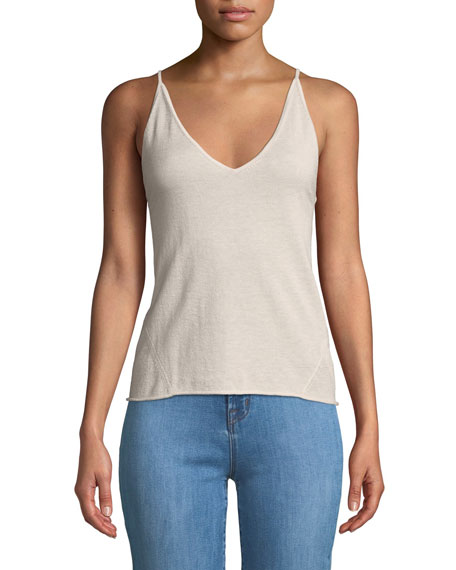 J Brand Lucy V-Neck Sweater Cami