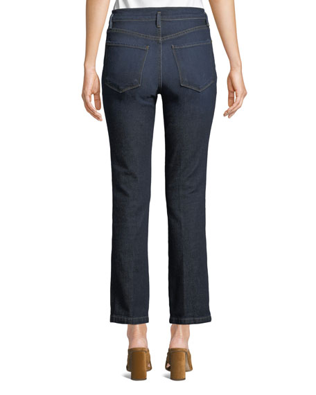 Le Slender Straight-Leg Denim Trouser Jeans
