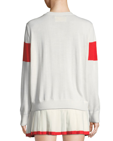 Performance Cashmere Tennis Sweater