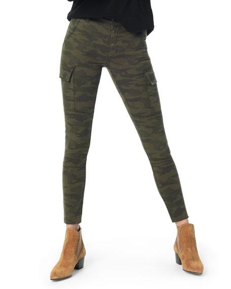 Joe's Jeans The Charlie Raw-Hem Skinny Camo Cargo