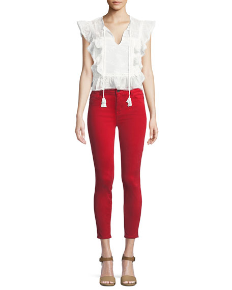 Ava Skinny-Leg Crop Jeans