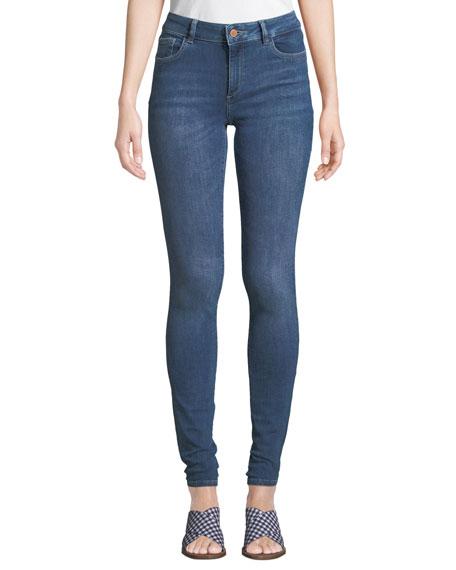DL1961 Premium Denim Danny Mid-Rise Instasculpt Skinny Jeans