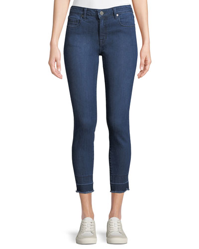 Ava Mid-Rise Cropped Skinny Jeans