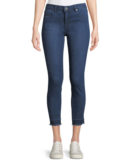 Parker Smith Ava Mid-Rise Cropped Skinny Jeans