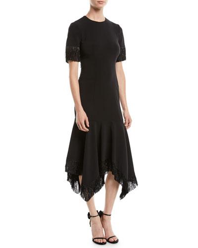Valler Handkerchief Dress w/ Fringe