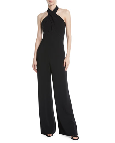 Chasidy Halter-Neck Jumpsuit