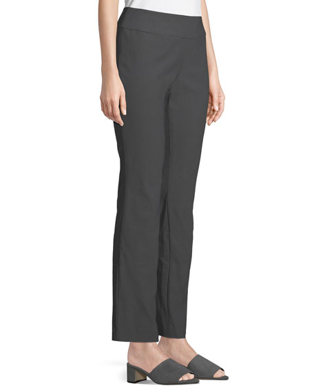 Plus Size Wonder Stretch Straight-Leg  Pants