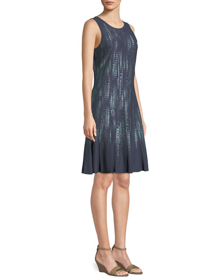 Lightning Streaks Twirl Dress