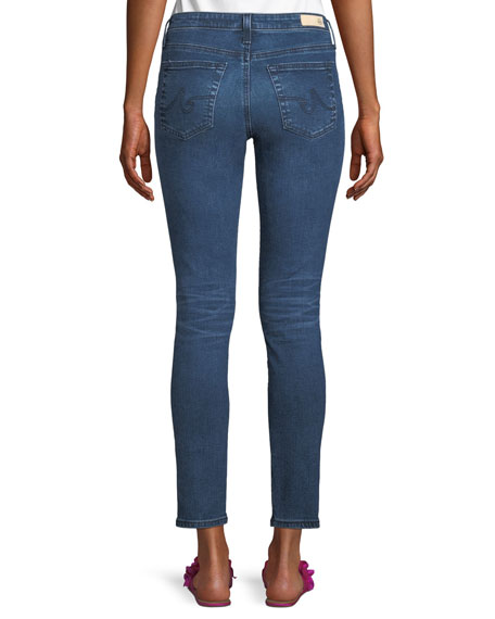 Prima Mid-Rise Ankle Skinny Jeans