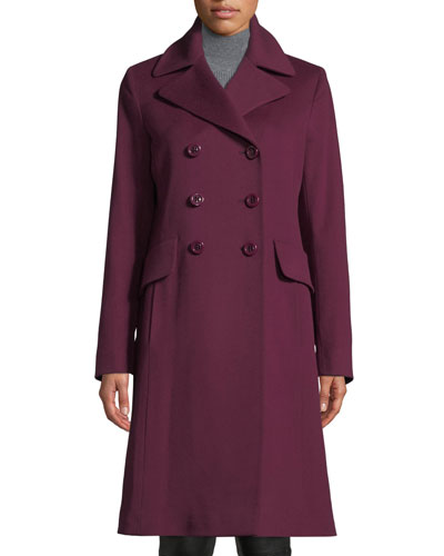 Double-Breasted Wool Walker Coat