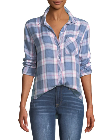 Rails Hunter Plaid Button-Front Shirt