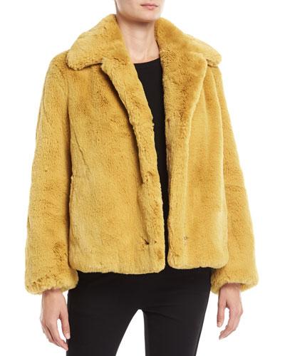 Alnswick Faux-Fur Chubby Coat