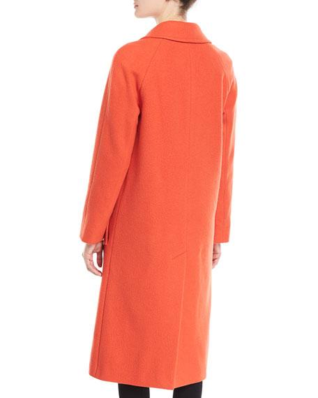 Ellerton Tailored 3-Button Wool-Blend Coat