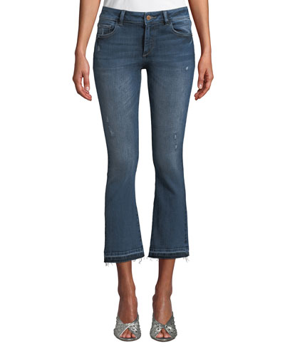 Lara Mid-Rise Instasculpt Cropped Jeans