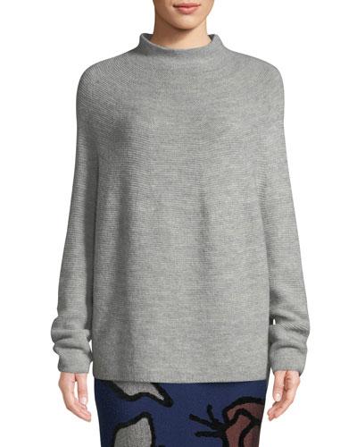 Kolka Baby Alpaca Knit Turtleneck Sweater