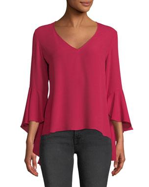 861dfaa70e4 Women s Designer Tops Clearance at Neiman Marcus