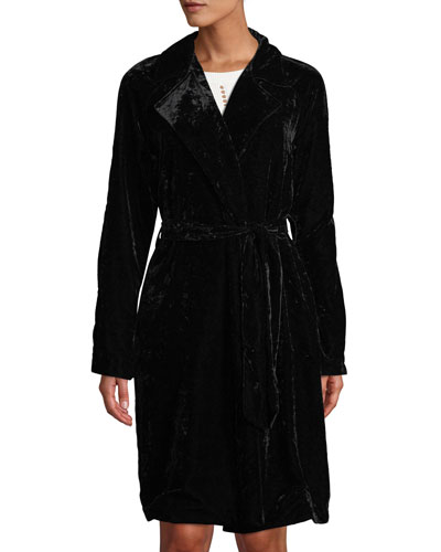Nikita Velvet Trench Coat