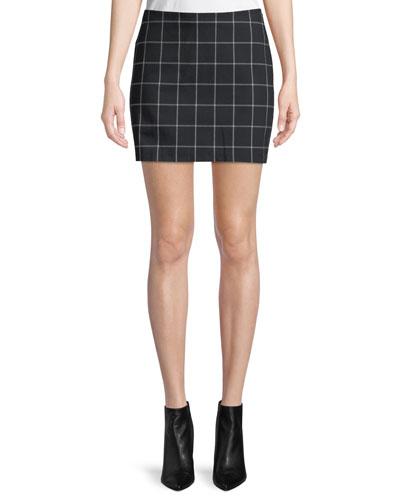 Alexei Plaid Mini Skirt