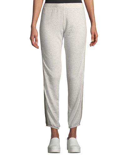 Supersoft Side-Stripe Sweatpants