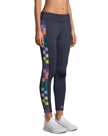 Checkered 7/8 Performance Leggings