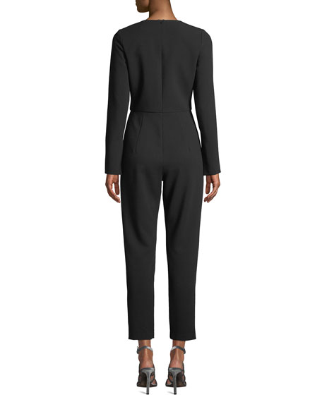 Straight-Leg Jumpsuit w/ Pockets