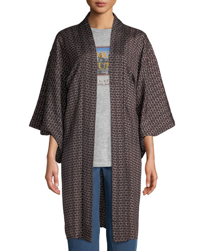 Vintage One-of-a-Kind Long Kimono