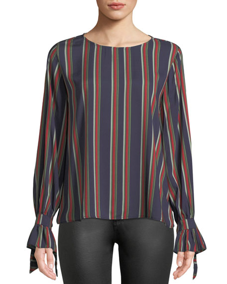 Oakley Striped Long-Sleeve Top, Multi