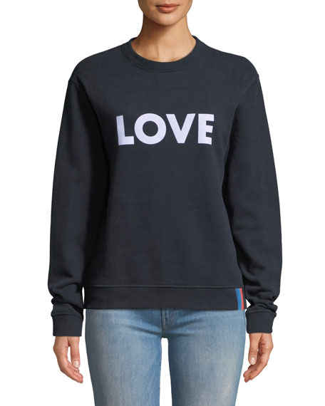 Kule The Raleigh Love Graphic Sweatshirt