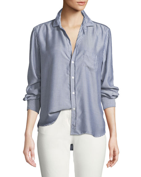Frank & Eileen Eileen Long-Sleeve Blouse