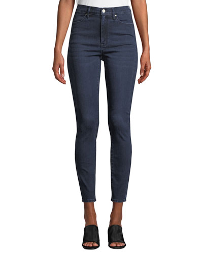 The Sultry High-Rise Ankle Skinny Jeans
