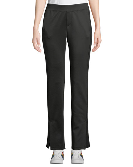PAM & GELA SIDE-STRIPE SCUBA TRACK PANTS