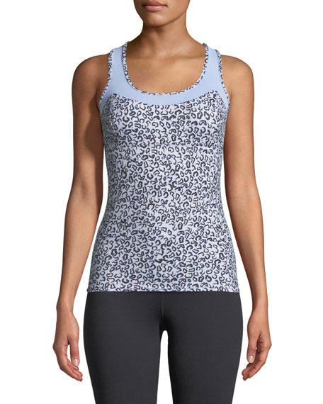 Varley Vidora Vest Sleeveless Printed Top