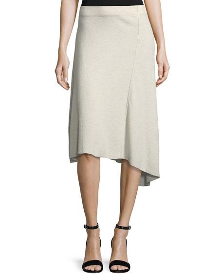 Mod Twirl Bias-Cut Skirt