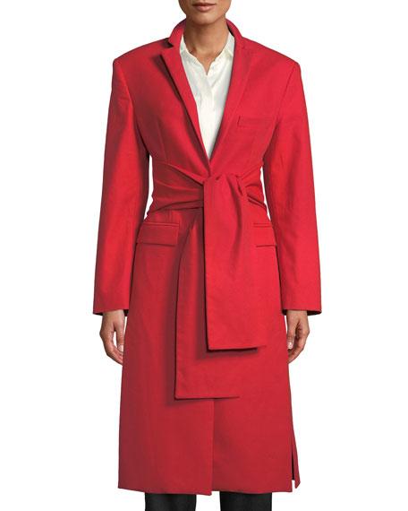 Trust Your Instincts Wool-Cashmere Long Coat