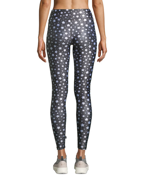 Stars Tall Band Activewear Leggings
