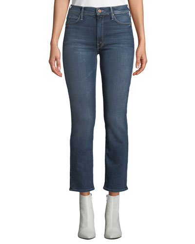 The Mid-Rise Dazzler Straight-Leg Jeans