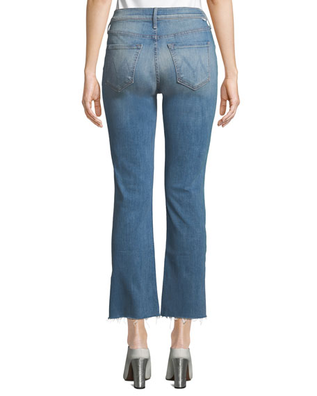 The Dutchie Ankle Fray Straight Jeans