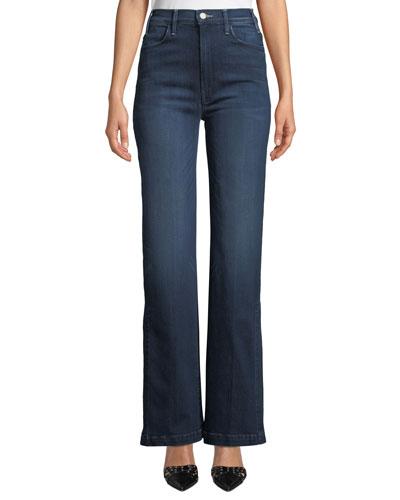 The Hustler Sidewinder Wide-Leg Jeans