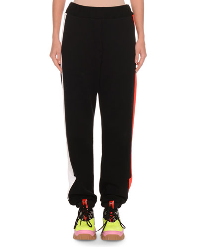 Cotton Jogger Sweatpants w/ Arrows