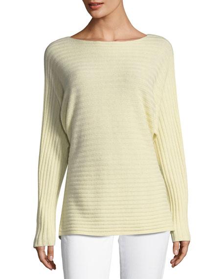 Self-Tie Back Dolman Sweater