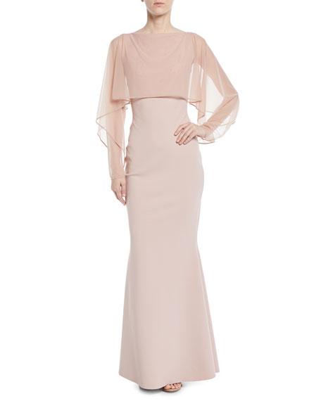 Chiara Boni La Petite Robe Nomeda Illusion Gown