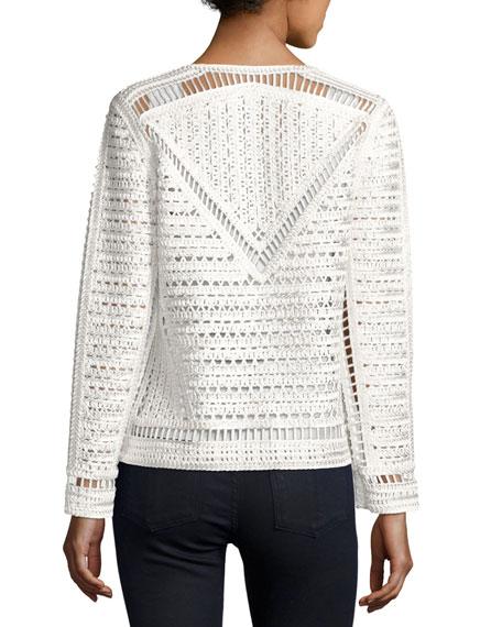 Crochet Topper Jacket, Petite